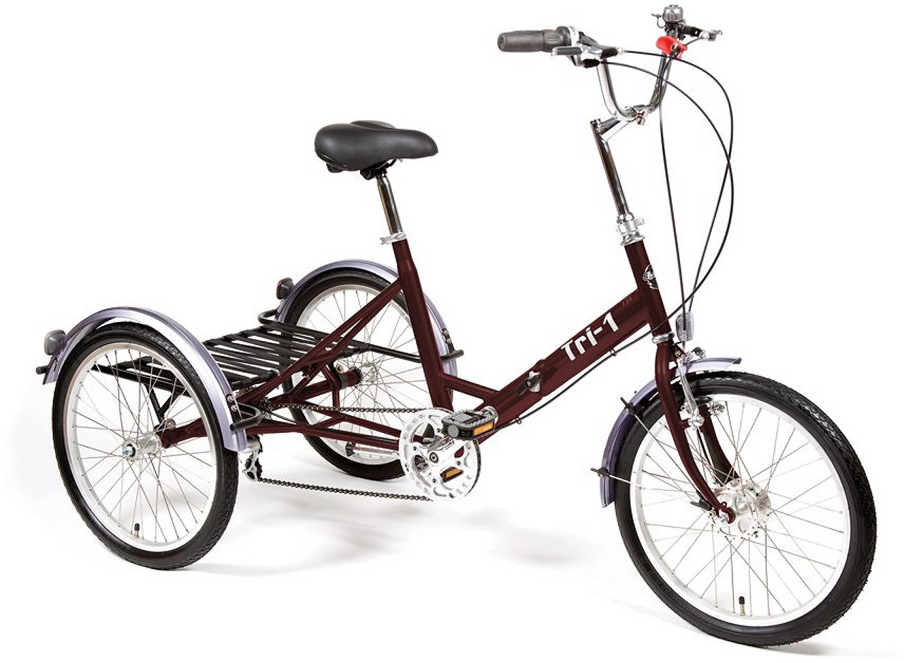 Pashley Tri-1 folding tricycle