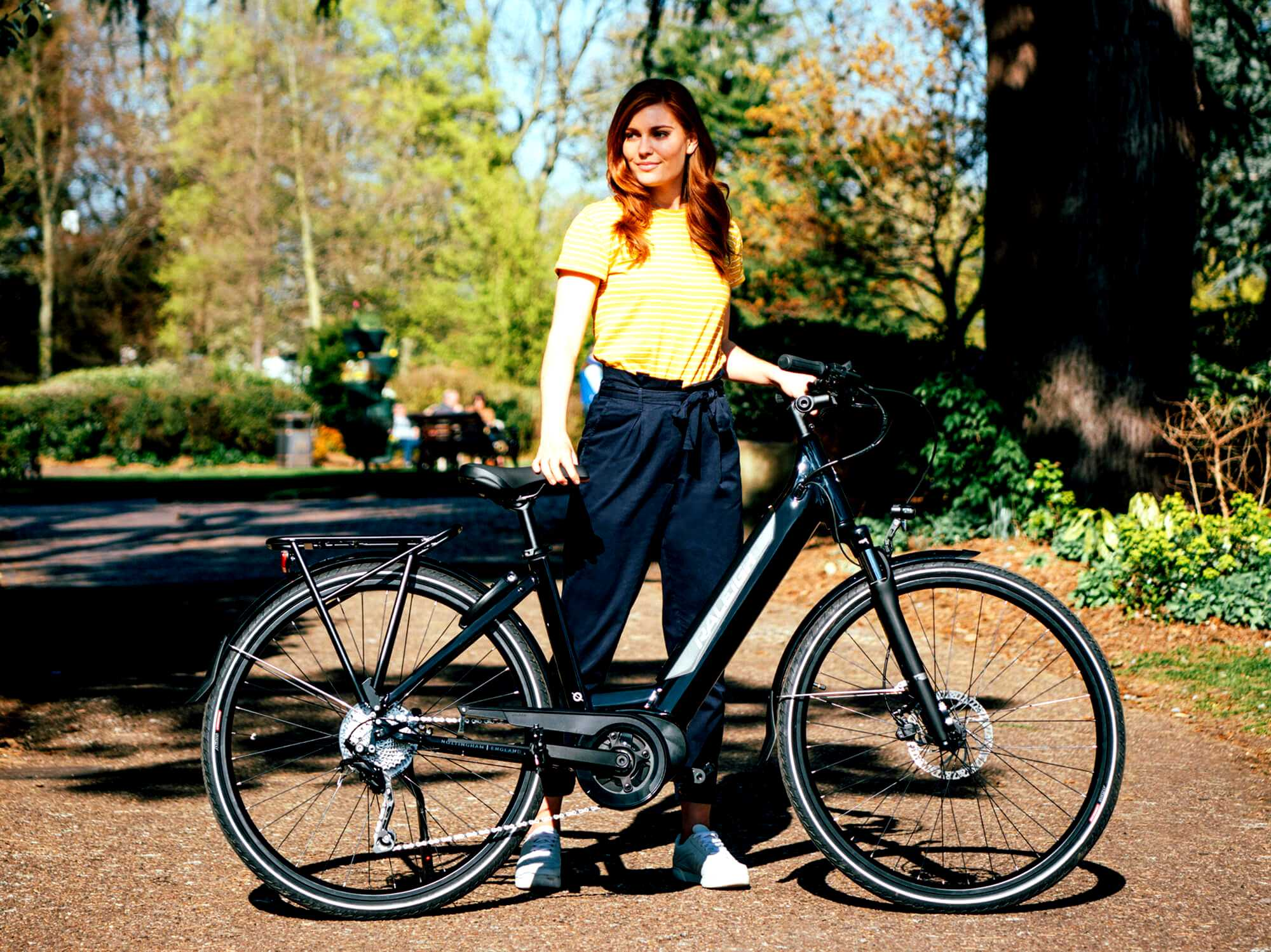 Raleigh Centros low step electric bike
